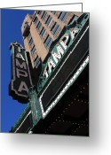 City Lights Greeting Cards - Tampa Theatre  Greeting Card by Carol Groenen
