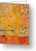 Skiphunt Greeting Cards - Tangerine Dream Greeting Card by Skip Hunt
