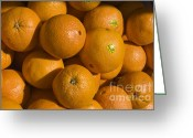 Tangerines Greeting Cards - Tangerines Greeting Card by Tim Mulina