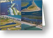 Topsail Greeting Cards - Taste of Topsail Greeting Card by East Coast Barrier Islands Betsy A Cutler