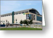 Td Greeting Cards - TD Garden Greeting Card by Clarence Holmes