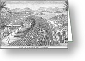 Lipton Greeting Cards - Tea Plantation, 1892 Greeting Card by Granger