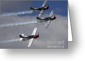 Chevalier Greeting Cards - Team Aerostar Formation Greeting Card by Elizabeth Chevalier