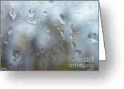 Dreary Greeting Cards - Tears for Sandy Greeting Card by Judy Via-Wolff
