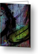 Abstract Framed Prints Framed Prints Greeting Cards - Tears Of My Peal  Greeting Card by Jerry Cordeiro