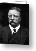 Theodore Greeting Cards - Teddy Roosevelt Greeting Card by War Is Hell Store