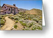 Canary Greeting Cards - Teide Church Greeting Card by Justin Albrecht