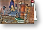 Kelso Greeting Cards - Telegraph Office At Kelso Greeting Card by Bob Christopher