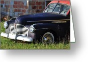Antique Cars Greeting Cards - Tell Me What You See Greeting Card by Jan Amiss Photography