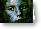 Child Greeting Cards - Tell MeTheres a Heaven Greeting Card by Paul Lovering