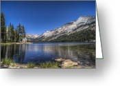 Reno Gregory Greeting Cards - Tenaya Lake Greeting Card by Reno Gregory