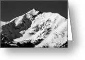 Snow-cap Greeting Cards - Tenmile Peak in Summit County Colorado Greeting Card by Brendan Reals