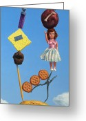 Doll Greeting Cards - Tenuous Still-Life 2 Greeting Card by James W Johnson