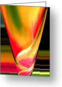 Karen Conine Greeting Cards - Tequila Sunrise Greeting Card by Karen Conine