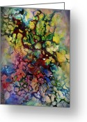 Complex Greeting Cards - Terra Greeting Card by Michael Lang