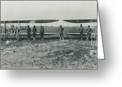 Portraits Photo Greeting Cards - Texas Aero Squadron Greeting Card by Padre Art