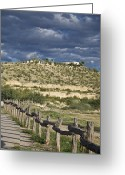 Generic Greeting Cards - Texas, Western Themed Brewster County Greeting Card by Richard Nowitz