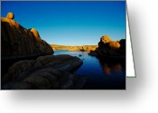 Watson Lake Greeting Cards - That Magic Moment Greeting Card by Zee Helmick