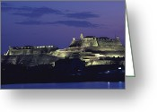 Bays Greeting Cards - The 17th-century Fortress Of San Felipe Greeting Card by O. Louis Mazzatenta
