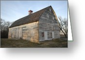 Property Released Photography Greeting Cards - The 1885 Barn At Historic Waveland Farm Greeting Card by Joel Sartore