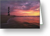 Hatteras Greeting Cards - The 198-foot tall Greeting Card by Steve Winter
