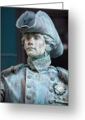 Lord Admiral Nelson Greeting Cards - The Admiral Lord Nelson Greeting Card by Chris Dutton