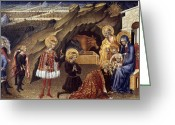 Saint Joseph Greeting Cards - The Adoration Of The Magi Greeting Card by Granger