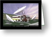 Dishes Greeting Cards - The American Dream Greeting Card by Mike McGlothlen
