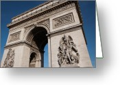 Passageways Greeting Cards - The Arc de Triomphe Greeting Card by JJ Gilmorte