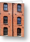 Brick Streets Greeting Cards - The Argonaut Hotel Back Side At Fishermans Wharf . San Francisco California . 7D14184 Greeting Card by Wingsdomain Art and Photography
