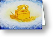 Ark Of The Covenant Greeting Cards - The Ark Greeting Card by Sylvia Luscombe