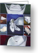 Yale Painting Greeting Cards - The Art of Nursing II Greeting Card by Marlyn Boyd