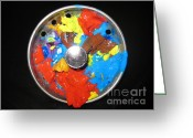 Drain Greeting Cards - The Artists Drain Greeting Card by Judy Via-Wolff