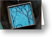 Sky Jewelry Greeting Cards - The Awakening Greeting Card by Dana Marie