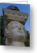 Greek Sculpture Greeting Cards - The Balance Act Greeting Card by Nicholas Evans