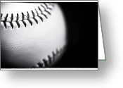 Sports Art Photo Greeting Cards - The Ball Greeting Card by John Rizzuto
