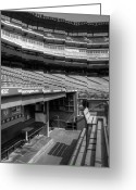 Professional Baseball Greeting Cards - The Ballpark In Arlington Greeting Card by Ricky Barnard