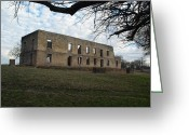 Robyn Stacey Photo Greeting Cards - The Barracks at Fort Washita Greeting Card by Robyn Stacey