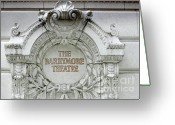 Arquitectura Greeting Cards - The Barrymore Theatre Greeting Card by Anahi DeCanio Photography