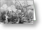 The War Between The States Greeting Cards - The Battle of Bull Run Greeting Card by War Is Hell Store