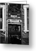 Mathew Greeting Cards - The Beatles Shop In Mathew Street In Liverpool City Centre Birthplace Of The Beatles Merseyside  Greeting Card by Joe Fox
