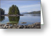 Gill Island Greeting Cards - The Beautiful Scenery Of The Great Bear Greeting Card by Taylor S. Kennedy