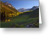 Most Photographed Photo Greeting Cards - The Bell Valley Greeting Card by Paul Gana