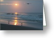 The Start Greeting Cards - The Best Way to Start the Day Greeting Card by Bill Cannon