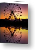 Storm Prints Photo Greeting Cards - The Big Easy Greeting Card by Pixel Perfect by Michael Moore