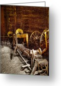 Tacoma Greeting Cards - The Blacksmith Shop II Greeting Card by David Patterson