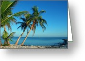 Beach Photo Greeting Cards - The blue lagoon Greeting Card by Susanne Van Hulst