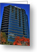 Photographers Ellipse Greeting Cards - The Borland Atlanta Greeting Card by Corky Willis Atlanta Photography
