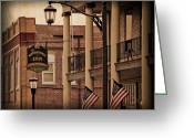 Berks County Greeting Cards - The Boyertown Inn Greeting Card by Trish Tritz