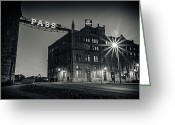 Silver Gelatin Greeting Cards - The Brewery Greeting Card by CJ Schmit